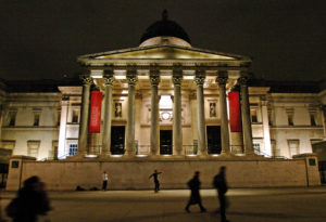 London_national_gallery_at_night